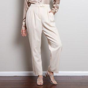 100% Wool 90s Trousers